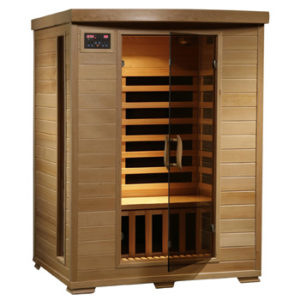 2-Person Hemlock Deluxe Infrared Sauna