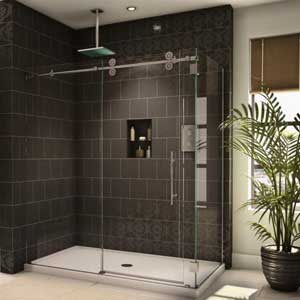 6 Best Sliding Shower Doors - (Reviews & Ultimate Guide 2018)