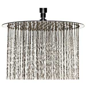 best rain shower head reviews guide comparison 2017. Black Bedroom Furniture Sets. Home Design Ideas
