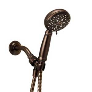 Moen 23015BRB Multi-Function Hand Shower Package with Hose, Mediterranean Bronze