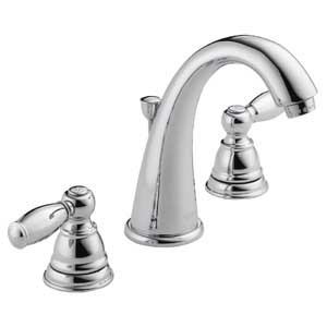 Peerless P299196LF Apex Two Handle Lavatory Faucet, Chrome