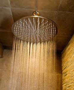 Rain shower heads