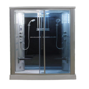 Sliding Door Steam Shower