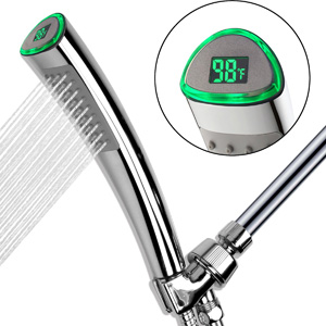 YOO.MEE LED Hand Held Shower Heads With Temperature Display
