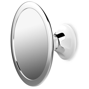 jerrybox fogless shower mirror for shaving and makeup