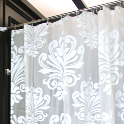 LynnWang Design Floral Shower Curtain