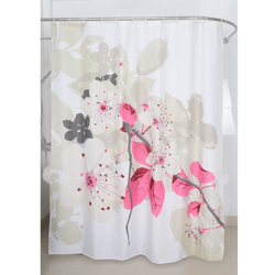 Magic Vida Nature Shower Curtain, Peach Tree