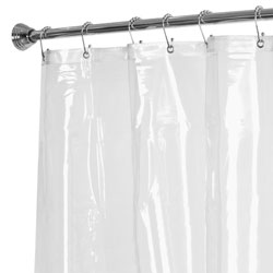 Maytex Shower Curtain Liner with Rustproof