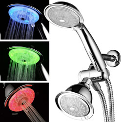 Power SPA LED Turbo Dual Shower Head