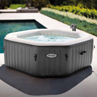 New - 4 Person Octagonal 210 Gallon Spa with 120 Bubble Jets