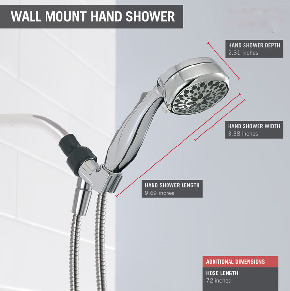 New - Features Of The Delta Faucet 75700 Hand Shower