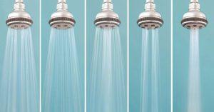 Low Flow Shower Heads