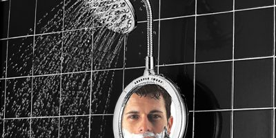 Fogless Shower Mirrors