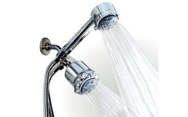 high-pressure shower head