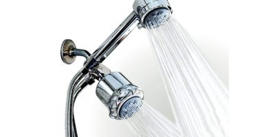 high-pressure shower head