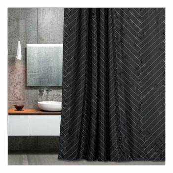 Aimjerry Fabric Shower Curtain
