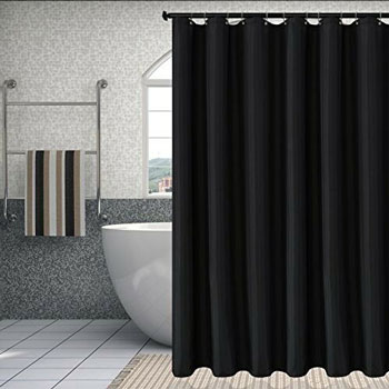 Biscaynebay Fabric Shower Curtain Liner