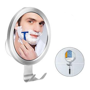 Budget Good Antifog Mirror with Razor Holder Hook