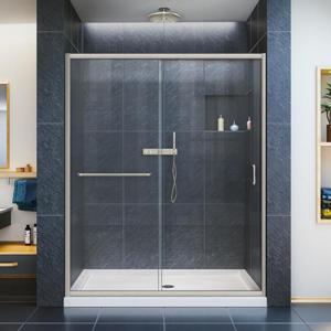 DreamLine Infinity-Z Frameless Sliding Shower Door