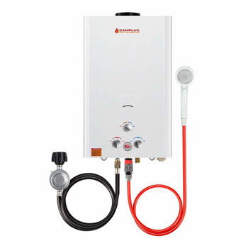 Camplux Outdoor Propane Gas Tankless Water Heater