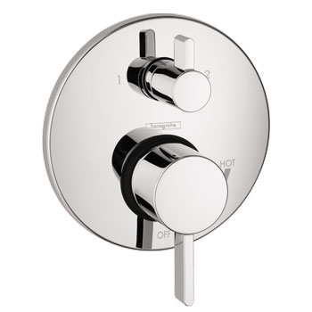 Hansgrohe 4447000 S Pressure Balanced Valve Trim with Integrated Diverter